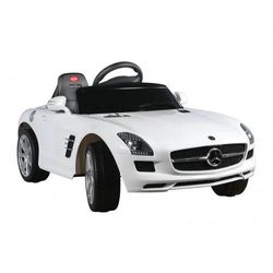 Samochód mercedes sls amg + pilot white, marki Arti