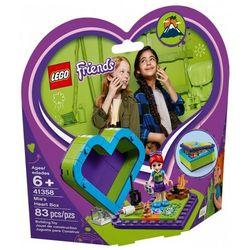 Lego Klocki friends pudełko w kształcie serca mii