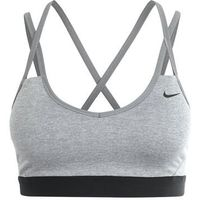 Nike Performance PRO INDY Biustonosz sportowy dark grey heather/anthracite