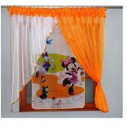 Komplet firanki Myszka Minnie 150x300 cm
