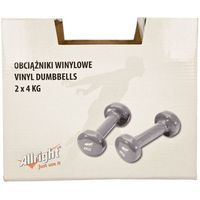 Zestaw hantli winylowych  2x4 kg fizhw8 izimarket.pl marki Allright
