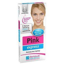 PINK express test ciążowy strumieniowy 1szt - produkt z kategorii- Testy ciążowe