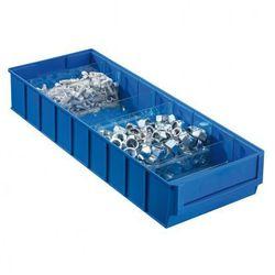 Allit Plastikowy pojemnik do regału shelfpoj., 183 x 500 x 81 mm, niebieski (4005187565706)