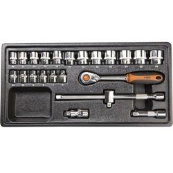 Zestaw kluczy nasadowych  3/8 cala 84-272 (23 elementy) marki Neo