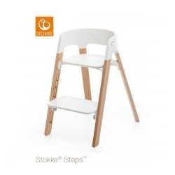 Stokke Krzesełko ® steps™ white/ natural