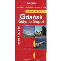 Gdańsk, Sopot, Gdynia. Plan miasta w skali 1:22 500, 1:24 000 (opr. miękka)