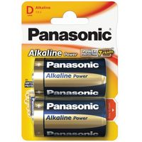 2 x Panasonic Alkaline Power LR20 / D (blister), LR03APB/4BP