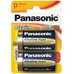 2 x  alkaline power lr20 / d (blister) wyprodukowany przez Panasonic
