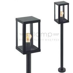 Eglo Słupek lampa zewnętrzna alamonte 94833 stojąca oprawa ogrodowa latarnia klatka outdoor ip44 czarna