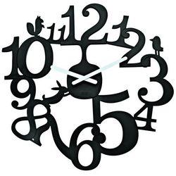 Koziol Zegar ścienny czarny pi:p kz-2327526