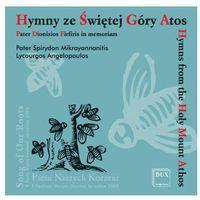 Hymny ze Świętej Góry Atos - Lycourgos Angelopoulos, Vassilios Georgaras, Alexis Giannakopoulos (5902547004