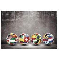 Mata na biurko z nadrukiem Football