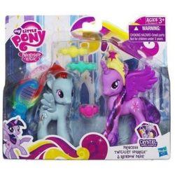 Zestaw my little pony twilight sparkle, rainbow dash a2657 wyprodukowany przez Hasbro