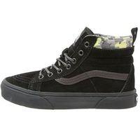 Vans SK8 MTE Tenisówki i Trampki wysokie black/lime punch - produkt z kategorii- Buty sportowe dla dzieci