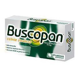 Buscopan 0,01g x 10 tabletek - produkt farmaceutyczny