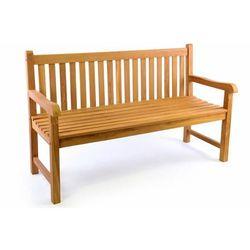 Ławka ogrodowa 3-osobowa drewniana 150 cm