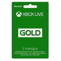 Subskrypcja Xbox Live Gold (3 m-ce karta zdrapka) - produkt w magazynie - szybka wysyłka!, 52K-00270