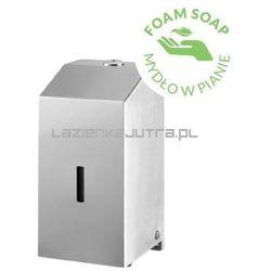 BISK Dystrybutor mydła w pianie 500ml, stal szczotkowana 06391, 06391