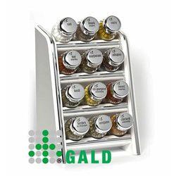 półka z przyprawami 12-el biała połysk 5901832921172 marki Gald