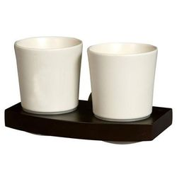 00969 Szklanka ceramiczna podwójna Madagaskar (5901487009690)
