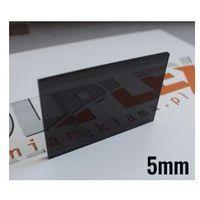 Plexi dymiona na ciemny grafit grubość 5mm cięta na wymiar marki Folplex
