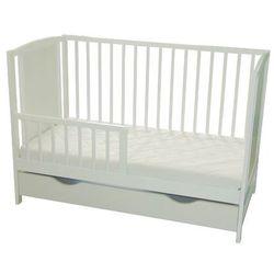 Łóżeczko niemowlęce bajka szuflada + tapczanik/ sofa marki Skrzat