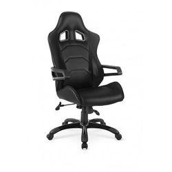 Fotel gabinetowy Demos - czarny
