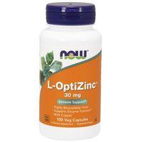 L-OptiZinc 30 mg - 100 Veg kapsułek Nowfoods