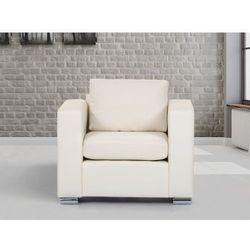 Skórzany fotel bezowy -  - HELSINKI, marki Beliani do zakupu w Beliani