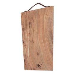 drewniana deska do pieczywa m hap6223 marki Hk living