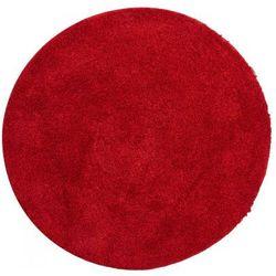 Grund Dywanik łazienkowy LEX, ruby czerwony, ⌀80cm (8590507346531)