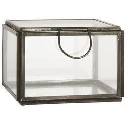 Ib Laursen - Szklane pudełko Altum z uchwytem duże