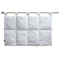 Dekoria wezgłowie na szelkach, snow white (biały), 90 x 67 cm, cotton panama
