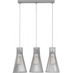 Lampa wisząca TK Lighting Vito Gray 3 / 1497 z kategorii Pozostałe oświetlenie