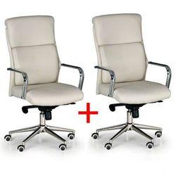B2b partner Krzesło biurowe viro 1+1 gratis, beżowe