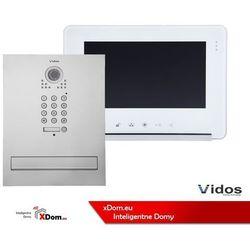 Vidos Zestaw s561d-skm skrzynka na listy z wideodomofonem i czytnikiem kart, m690ws2 monitor 7'' wideodomofonu