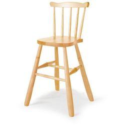 Krzesło dziecięce anna, 520 mm, brzoza marki Aj produkty