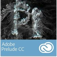 Adobe Prelude CC EDU dla Multi European Languages Win/Mac - Subskrypcja (12 m-ce)