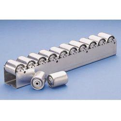 Ciężka listwa toczna ze stalowymi rolkami cylindrycznymi o Ø 45 mm, podział role marki Unbekannt