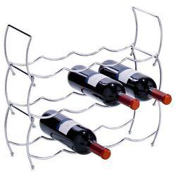 Metalowy stojak na wino - 3 sztuki w komplecie, ZELLER (4003368273563)