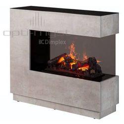 Zestaw kominek + obudowa zen 3d beton - najniższa cena w polsce + dodatkowy rabat 5% marki Dimplex - najlepsze ceny
