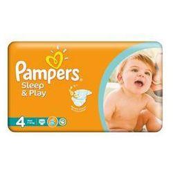 Pampers Pieluszki  sleep&play rozmiar 4 maxi, 50 szt., kategoria: pieluchy jednorazowe