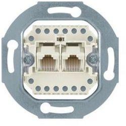 BERKER one.platform Mechanizm gniazda telefonicznego UAE podwójnego (RJ11, RJ12, RJ45), kat. 3 534539 z kateg