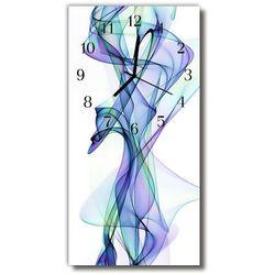 Zegar Szklany Pionowy Sztuka Abstrakcja linie kolorowy, kolor wielokolorowy
