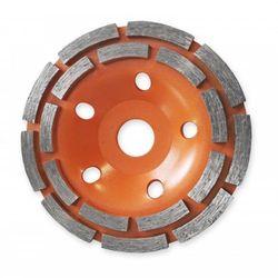 Tarcza do szlifowania DEDRA HP042 180 x 22.2 mm podwójny segment + DARMOWY TRANSPORT! z kategorii pozostałe narzędzia elektryczne
