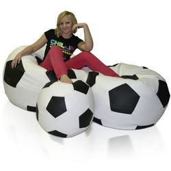 Pufa, Football - piłka - zestaw XXXL+XXL+L