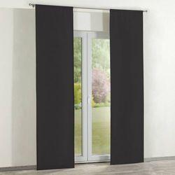 Dekoria zasłony panelowe 2 szt., shadow grey (grafitowy), 60 × 260 cm, cotton panama