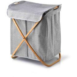 Villagio grey kosz na pranie 50x40xh61cm marki Sofa.pl