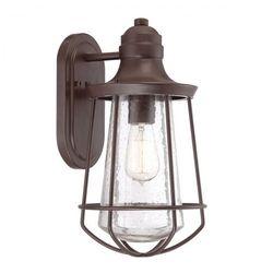 Zewnętrzna LAMPA wisząca KL/LYNDON8/S Elstead KICHLER metalowa OPRAWA ogrodowy ZWIS IP23 outdoor brązowy (5024005338413)