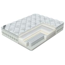 Luksusowy materac Verda Soft Memory Pillow Top, kolor Frostwork, 180x200 cm
